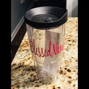 Blessed Nana 24 oz acrylic drinkwear with lid